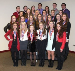 In its first season being co ed, cheer won State last year!