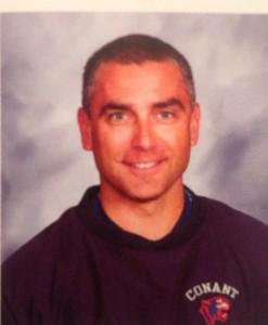Mr. Powers is a gym teacher and a Conant graduate.