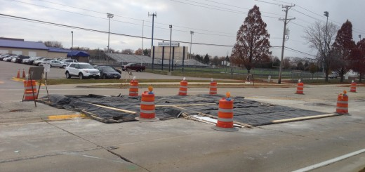 Construction work on Plum Grove Road will last from November 13 to November 17.