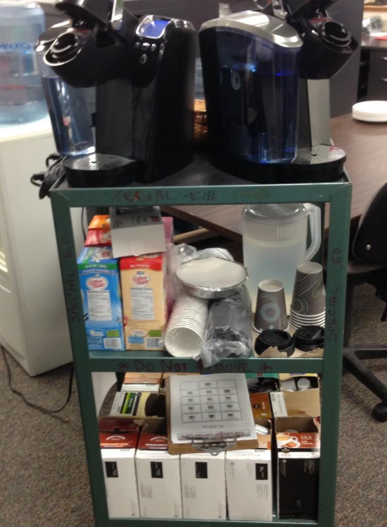 Coffee cart aims to teach students valuable life skills for Coffee carts for office