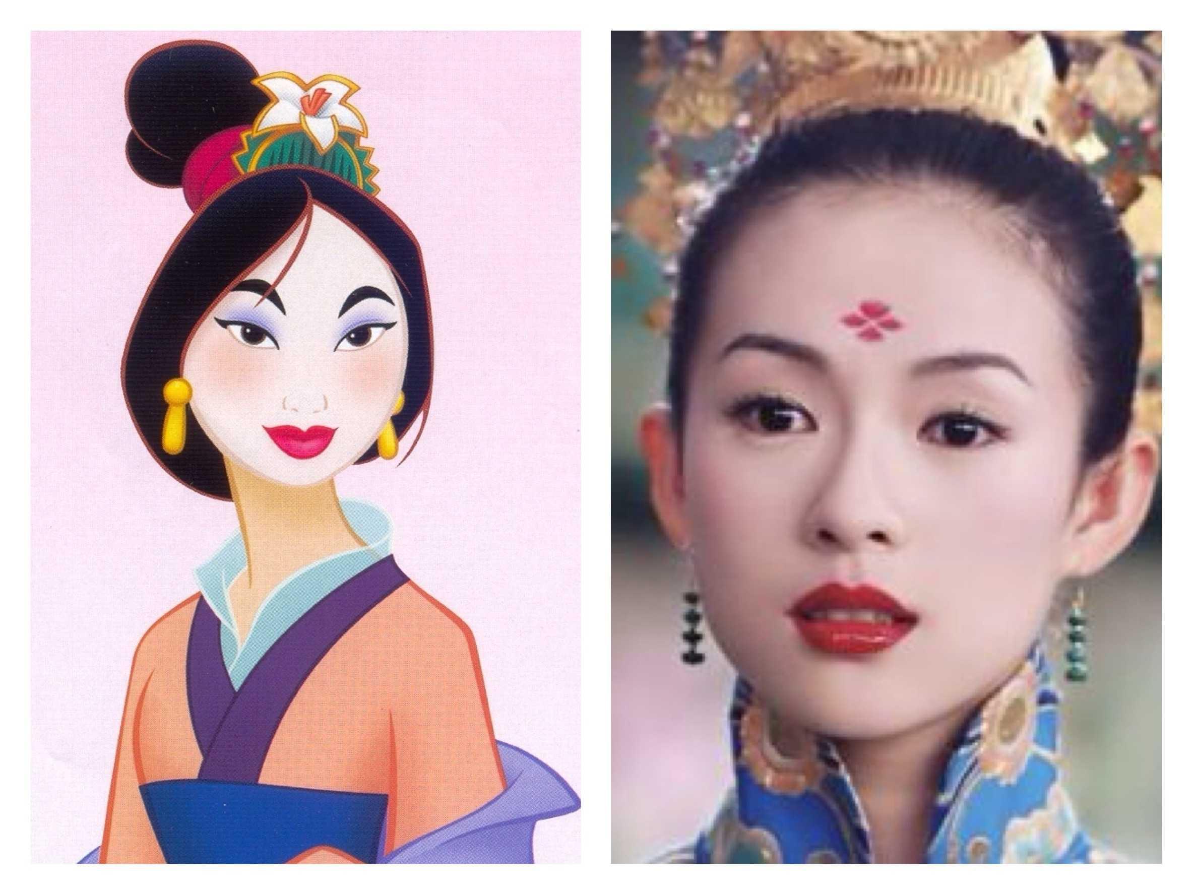 real life disney princesses mulan images