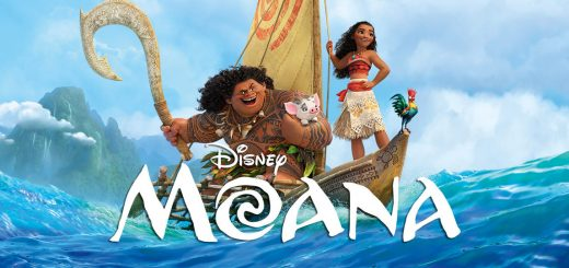 "Movie poster for ""Moana,"" Disney's latest animated film"