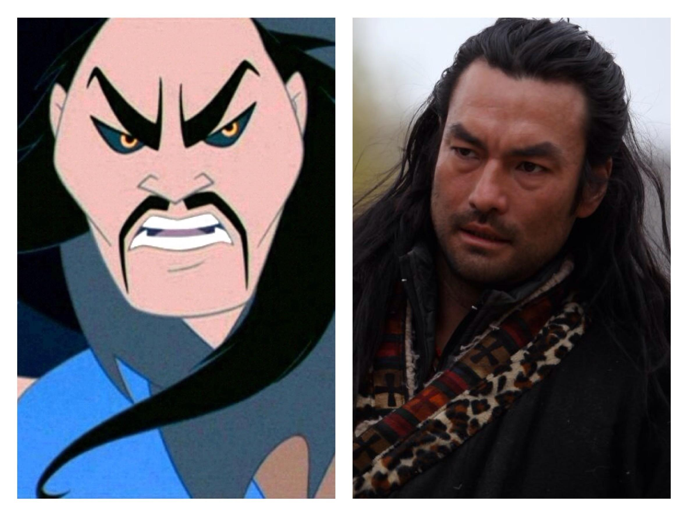 With His Intimidating Facial Features And Some Added Makeup McInnis Could Very Easily Assume The Role Of Shang Yu