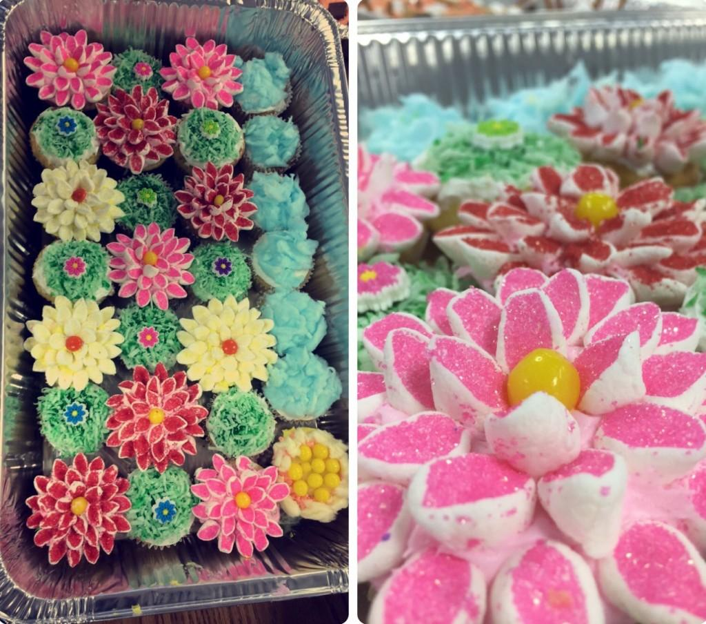 The winning cupcakes made by Family and Consumer Sciences