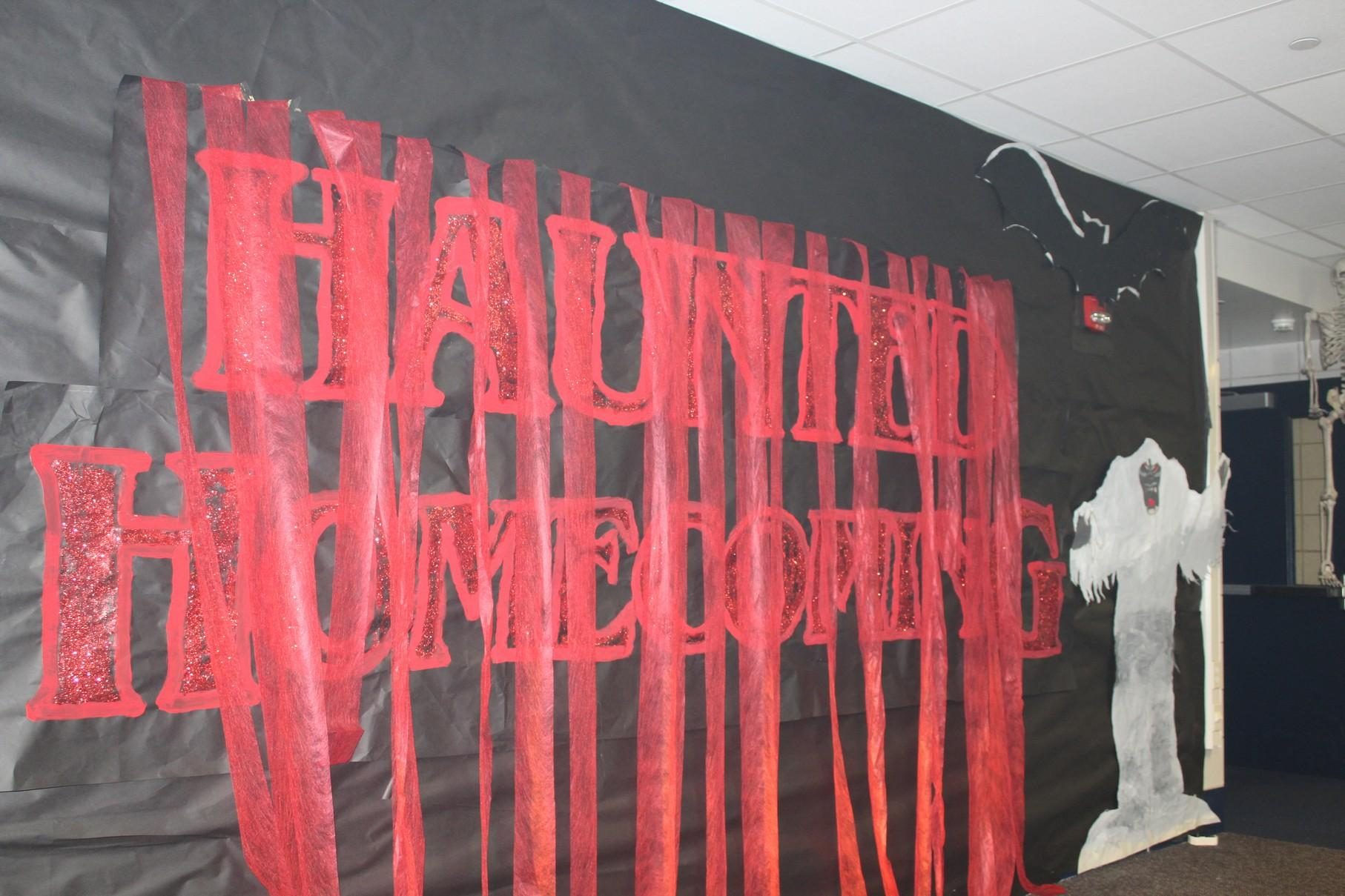 gallery haunted homecoming hallway decorations conant crier