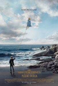 "Movie poster for ""Miss Peregrine's Home for Peculiar Children"""