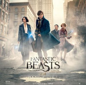 "Movie poster for ""Fantastic Beasts and Where to Find Them"" courtesy of Movie News Guide"