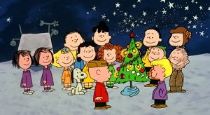 "Scene from ""A Charlie Brown Christmas"""