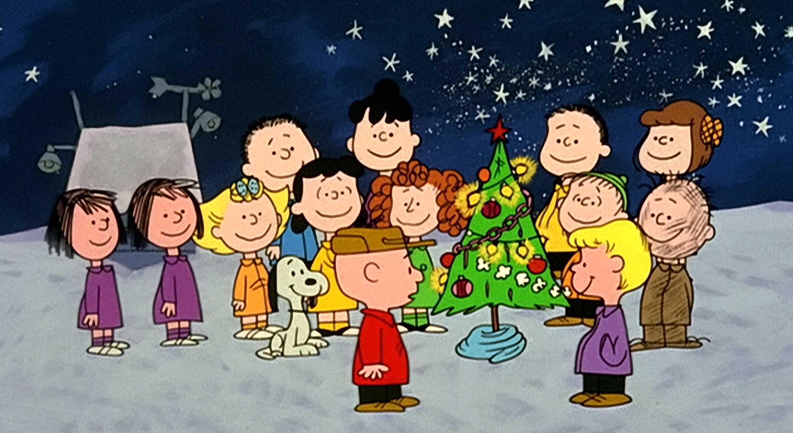 scene from a charlie brown christmas - Classic Christmas Movies
