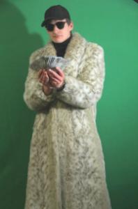 Will Corbett's Olympia Mink coat