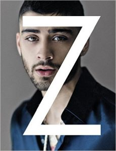 "Zayn Malik, on the cover of his autobiography ""Zayn."" Image credit: Amazon"
