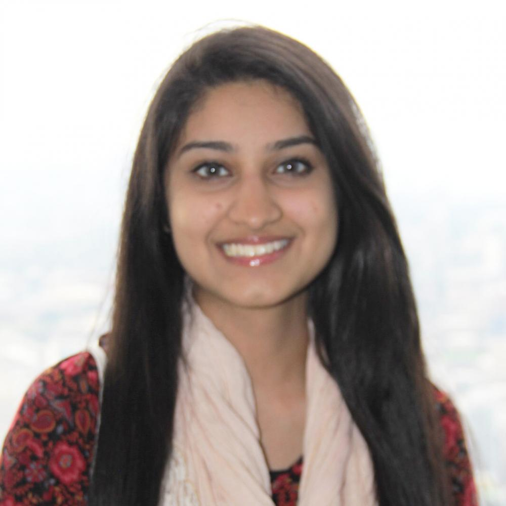 Arisha Rizvi : Entertainment Editor